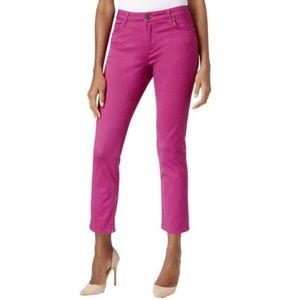 NWT Kut From The Cloth Reese Ankle Cotton Pants